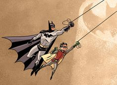 Batman & Robin by Dean Trippe
