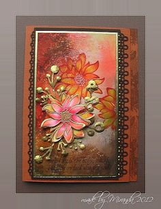 'Mir'acle Art Inspirations: Colours of Fall again......nog meer kleuren van de herfst