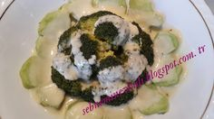 Nefis soslu brokoli. http://sebneminevhali.blogspot.com.tr/2015/01/brokoli-ask.html