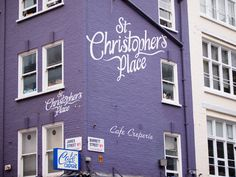 Milka color at St Christophers place