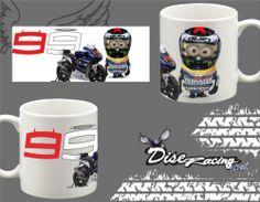 Taza Desayuno Blanca Minions Lorenzo Moto GP Mug Tasse Tazza Decoratica Yamaha | eBay
