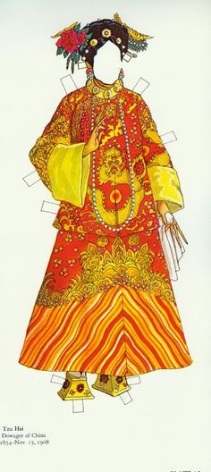 Great Empresses and Queens: Tzu Hsi Dowager of China