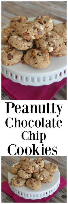 My Peanutty Chocolate Chip Cookies are the perfect combination of sweet and salty and fabulous!
