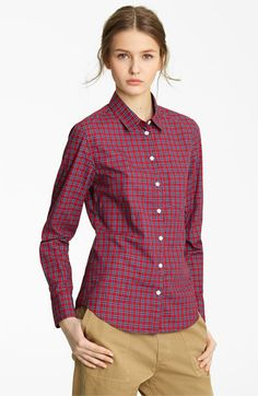 I want this Boy. by Band of Outsiders Plaid Shirt