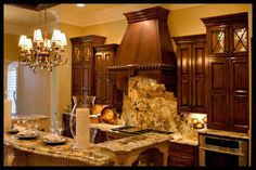 Beautiful granite countertop kitchen