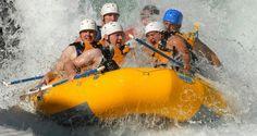 Addio al celibato col rafting in Trentino