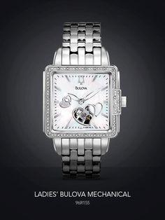 """Les presentamos unos de nuestros relojes de la colección """"Mujeres Bulova Mechanical"""" REF. 96R155 Un reloj sin batería ni electricidad, que funciona con la energía generada por el movimiento natural de tu cuerpo. El resultado es un diseño tan hermoso por dentro como por fuera."""