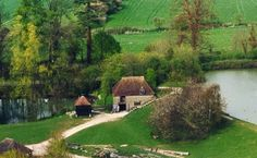 Weald & Downland Open Air Museum, 7 miles north of Chichester, West Sussex. An historic working watermill - flour ground daily. Dream Vacations, Vacation Spots, Images Of England, England Countryside, Medieval Houses, Family Days Out, Chichester, Day Trips, Museums