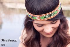 Beaded Headband by ReRideStories on Etsy, $25.00