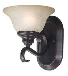 Kenroy Lighting Welles 1 Light Sconce in Oil Rubbed Bronze 80471ORB | Lighting New York