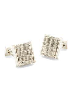 34e5f1d831d922 9 25 uufff para una noche elegante Daniel Dolce IKE Behar Silver Cufflinks