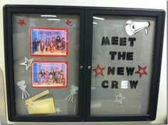 Hollywood and Movie Themed Back To School Bulletin Board Idea
