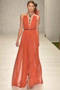 Sfilata Marios Schwab #Londra - Collezioni Primavera Estate 2014 - #Vogue #lfw #ss2014 #MariosSchwab
