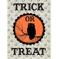 Printable Decorations for Halloween-I love this time of year!