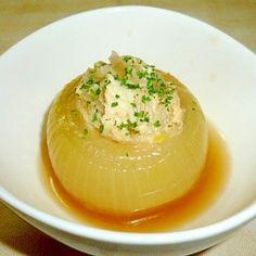「丸ごと玉ねぎのコトコト煮♪」丸ごと玉ねぎの簡単洋風煮物です♪作るのも簡単です(^O^)あっさりしているのでダイエット中の方ににピッタリですよ~♪新玉ねぎで作ると更にトロトロです♡【楽天レシピ】