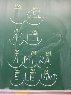 grundschul_teacher - Material, Montessori & Tipps: Die Geschichte von den Silbenkönigen – oder: wie wir einen tollen Schreibtrick lernen
