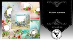Perfect summer - quick pages by Black Lady Designs