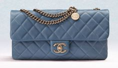 Chanel Cruise 2013 Bag Collection   Chanel CC Crown Flap Small Bag