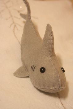 Felt Shark Softie by BrutalWallflower on DeviantArt