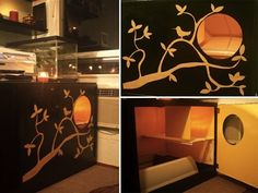 Custom Gold and Black Box   27 Useful DIY Solutions For Hiding The Litter Box