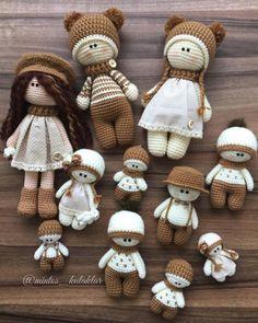 13 Undeniably Incredible Crochet Dolls