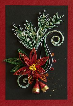 neli: Quilling cards - Christmas