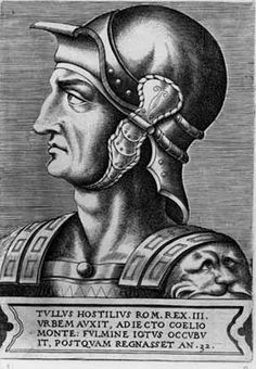 Tullus Hostilius was the legendary third of the Kings of Rome. He succeeded Numa Pompilius and was succeeded by Ancus Marcius. Unlike his predecessor, Tullus was known as a warlike king. Ancient Aliens, Ancient Rome, Roman Kings, Roman Man, Holy Roman Empire, Roman History, Weird Pictures, Religion, Antiquities