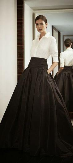 Elegant Black and White. Gorgeous Classic View