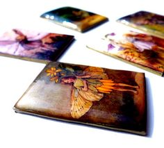 I LOVE RESIN: Shrinky Dink and A Resin Glaze - Out of the Archives