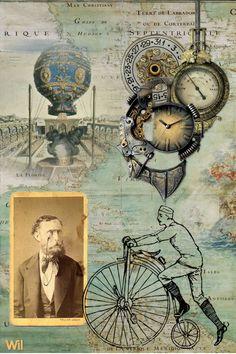 steampunk Wil Bregman