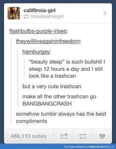 You Make My Trashcan Bang