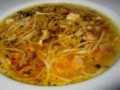Sváteční slepičí polévka Slovak Recipes, Czech Recipes, Ethnic Recipes, Thai Red Curry, Soup, Soups