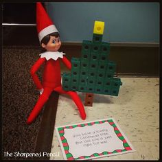 The Sharpened Pencil: Elf in the Classroom - Week 1