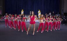 """Watch the cheerleaders; save the world! Lifetime's """"Bring It"""" puts a school dance squad through the wringer (handicap: coach is not Abby) to turn these vapid-headed princesses into lean, mean, moving machines."""