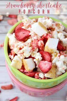Strawberry Shortcake Popcorn!