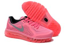 reputable site fb874 4a8cb Womens Nike Air Max 2014 Pink Black Silver Shoes Adidas Nmd, Adidas Shoes,  Superstar
