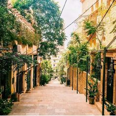Walking through Gemmayze, Beirut.