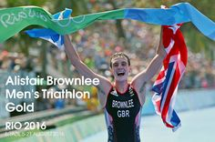 Alistair Brownlee retained his Olympic men's triathlon title to win Britain's 20th gold medal of the Rio Games, with brother Jonny claiming the silver.