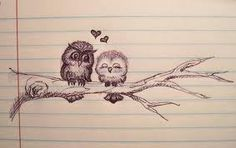 love owls sketch