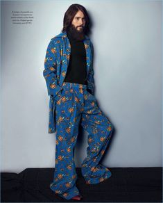 Connecting with Icon El País, Jared Leto wears Gucci.
