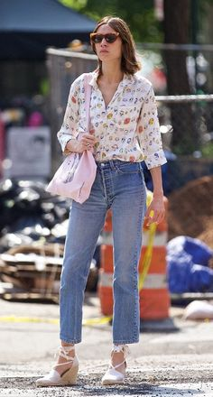 Alexa Chung out and about in New York | July 20, 2016