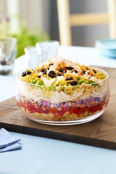 Southwestern Chicken & Cornbread Salad Recipe | Hidden Valley®