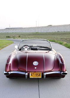 Vintage Cars 1958 Corvette Combines Old with New Style and Performance Chevrolet Corvette C1, 1958 Corvette, Pontiac Gto, Stingray Corvette, Yellow Corvette, Mustang, Corvette Convertible, Lifted Ford Trucks, Performance Cars