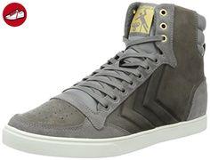 SL. Stadil Duo Canvas Low, Sneakers Basses Mixte Adulte, Gris (Dove), 36 EUHummel