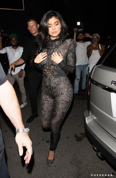 Kylie Jenner Mixes Business With Pleasure at Her 19th Birthday Bash