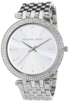 cool MK3190 Ladies All Silver Watch - For Sale Check more at http://shipperscentral.com/wp/product/mk3190-ladies-all-silver-watch-for-sale/
