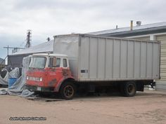 International Loadstar cabover box truck in Akron, Colorado 2011