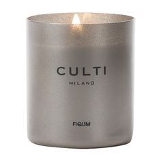 Scented Candle in Glass - 235g - Fiqum Scented Candles, Candle Jars, Candle Holders, Kitchen Candles, Decorative Accessories, Luxury Homes, Branding Design, Fragrance, Glass