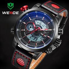 2017 Top Brand Relogio Masculino Men Sport Watch For Men Digital Analog Shock Watch Army Military Waterproof Quartz Wristwatches #Affiliate