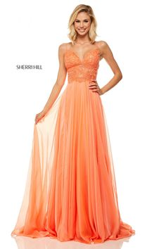 51e168c4ab Sherri Hill - 52818 - Formal Approach Prom Dress  52818 Designer Prom  Dresses